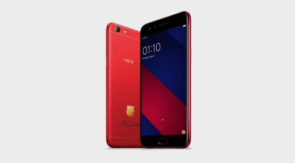 OPPO F3 FCB Limited Edition