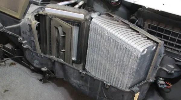 faulty heater core
