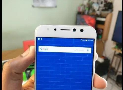 ASUS Zenfone 4 Selfie Pro dual front camera