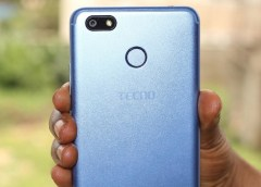 TECNO Spark blue camera