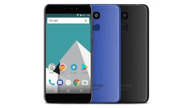 Vernee M5 4G blue black