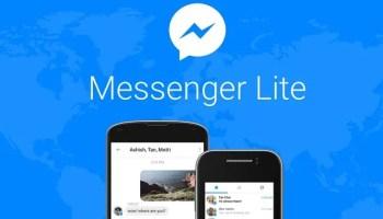Facebook Messenger Lite app