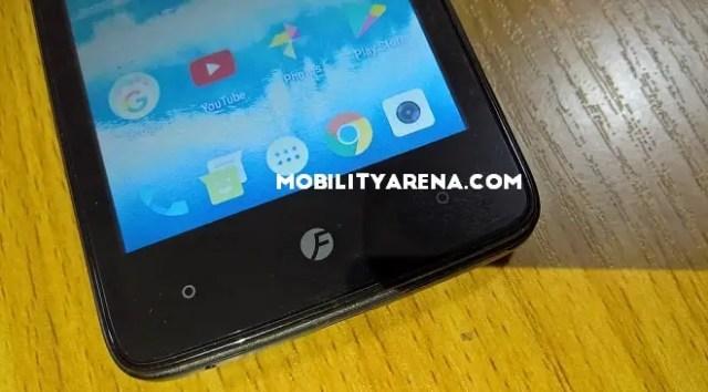 Freetel ICE 2 bottom of screen