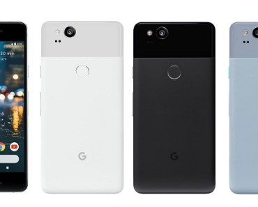 Google Pixel 2 with rear