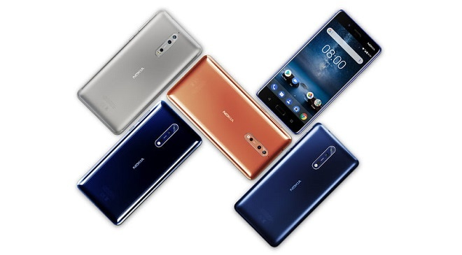 Nokia Android smartphones with Android OS updates
