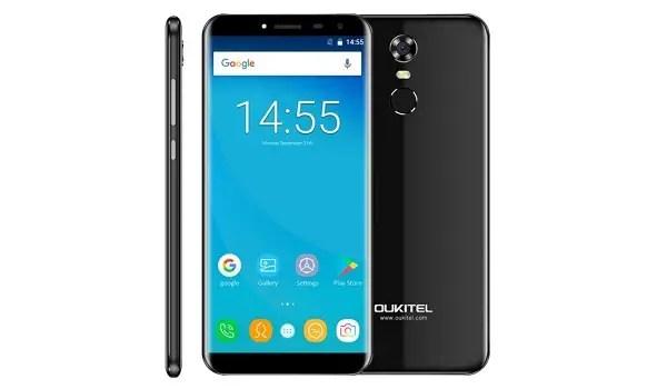Oukitel C8 cheap bezel-less smartphone