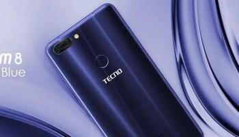 TECNO Phantom 8 galaxy blue