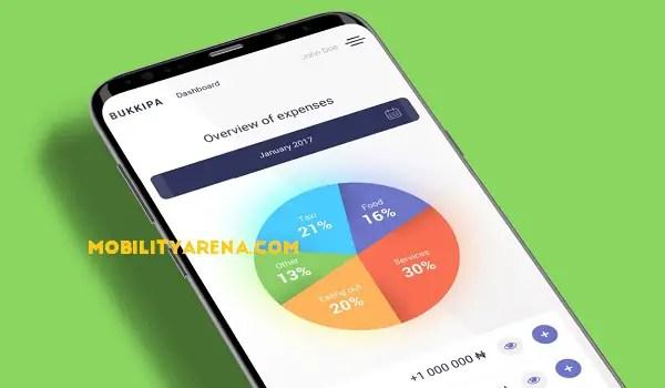 bukkipa simple book-keeping mobile app