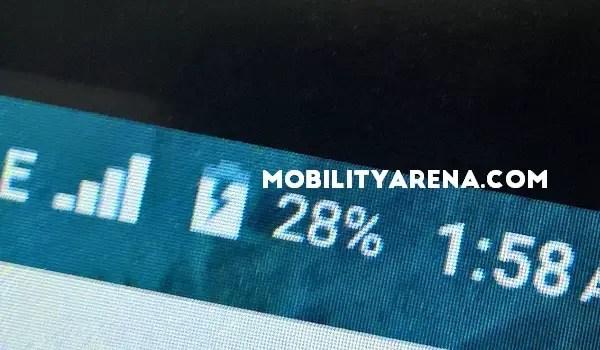 no fast charging