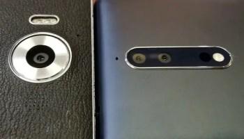 Lumia 950 versus Nokia 8