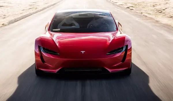 new tesla roadster 2020 front