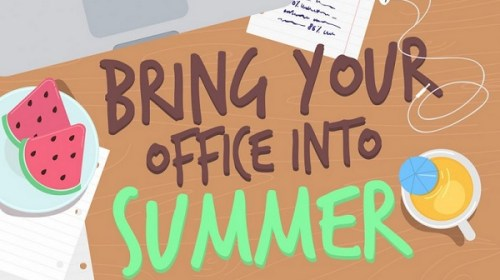 summer in the office - wrike