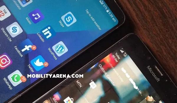 Lumia 950 vs LG G6