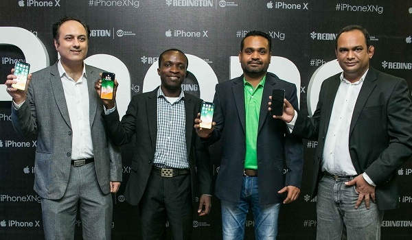 iPhone Officials at the iPhone X Lagos Launch