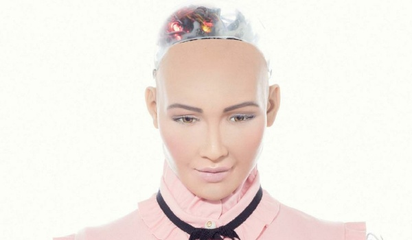Sophia robot doll