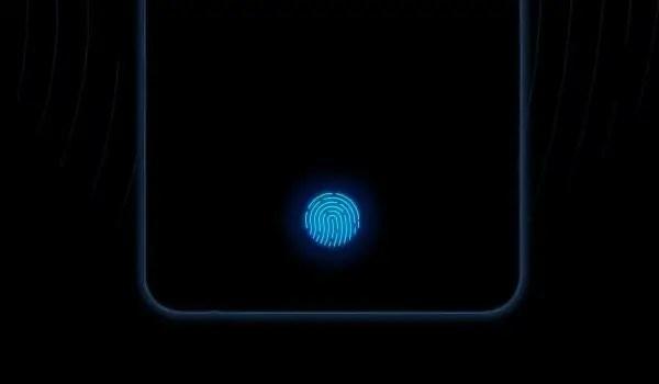first in-display fingerprint sensor by vivo