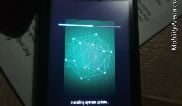 Ntel n1 Nova unlocked device update