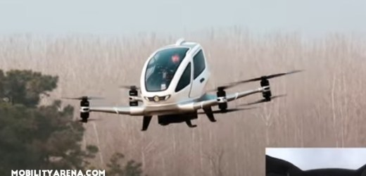 EHang 184 This is the world's first passenger drone
