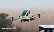 See the first passenger drone on its maiden public flight