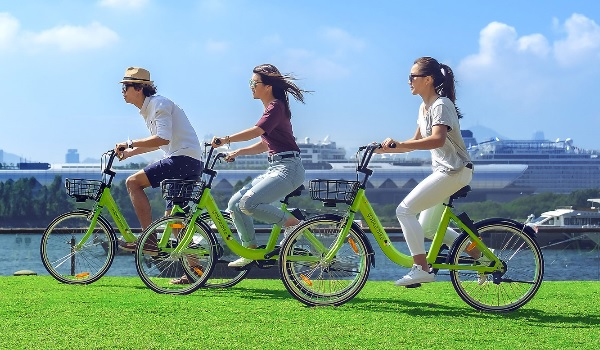 Paris Bike Sharing Service - Gobee bike
