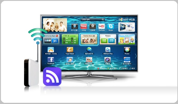 connect your smart tv to the internet