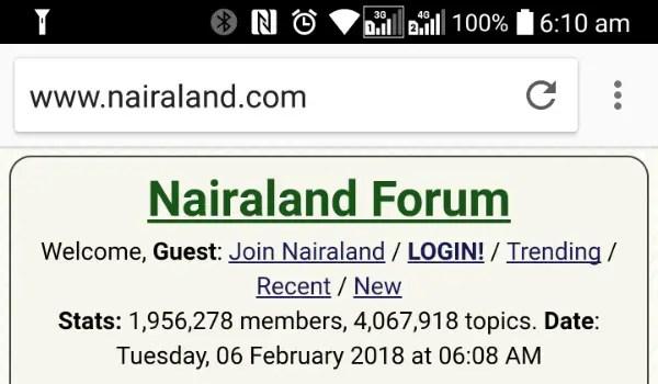 nairaland nairaland.com