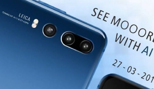 Huawei P20 Pro 40 megapixels camera