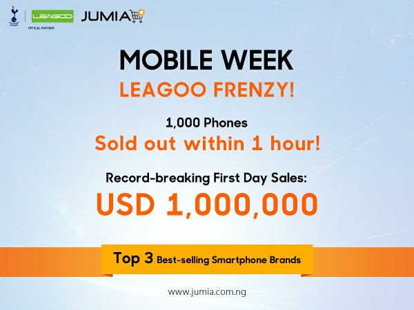 Jumia mobile week leagoo frenzy