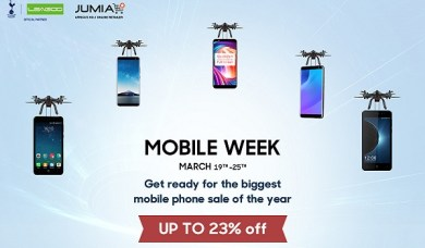 UP to 27% discount!LEAGOO and Jumia Mobile Week