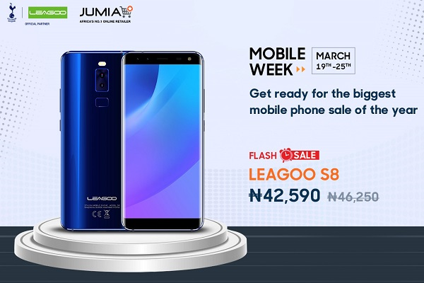 LEAGOO S8 discount sale