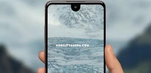 smartphone display top notch phone