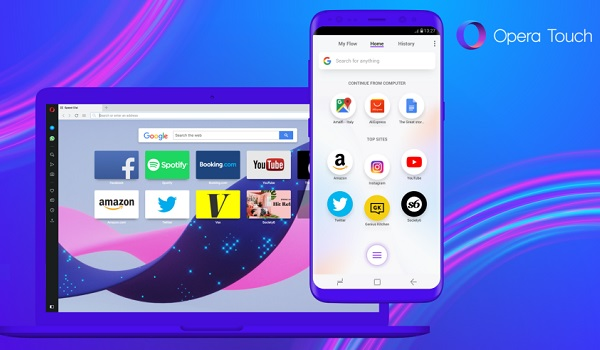 Opera Touch and Opera for PCs