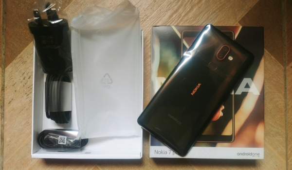 nokia 7 plus unboxed