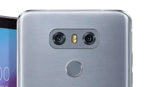 LG G6 fingerprint scanner issue