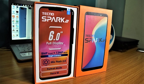 Tecno spark 2 unboxing