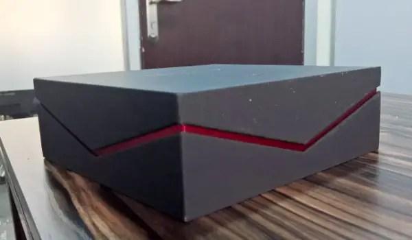 itel p32 box side