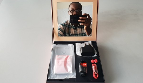 itel s13 unboxing box open mirror