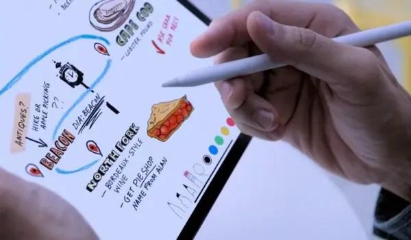 new ipad pro 2018 with pencil
