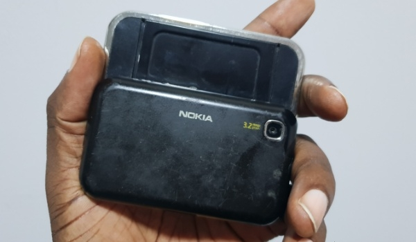 I got my hands on a Nokia 6760 Slide again this week #MuseumMobility: 2