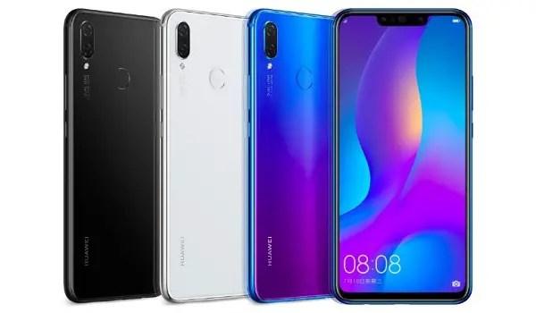 Huawei nova 3 specs