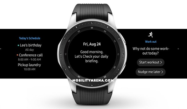 Samsung Galaxy Watch specs
