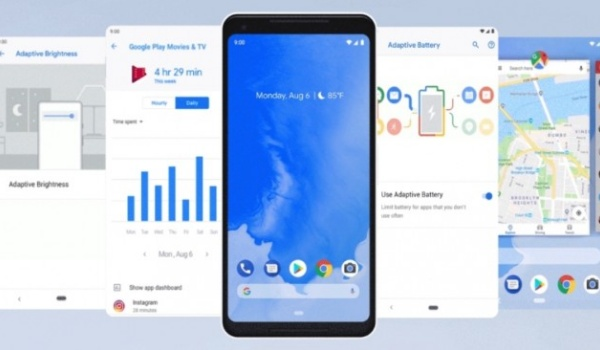 android 9 update
