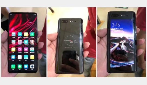 Nubia Z18S - 2 screens