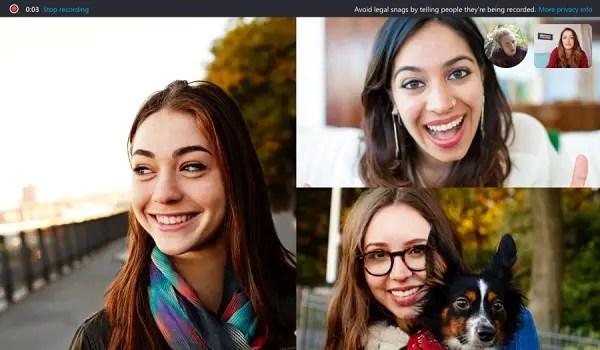 Skype call recording - call recording in Skype