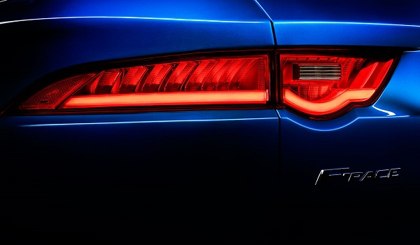 jaguar f pace tail light