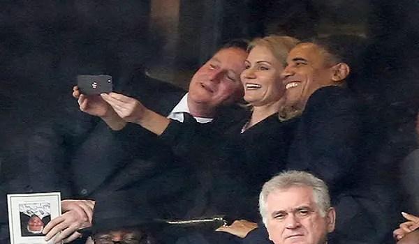 A presidential selfie