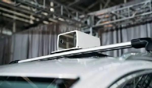 self-driving car 4D LIDAR sensor by Aeva