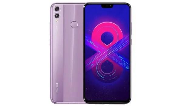 HUAWEI Honor 8X 4G purple