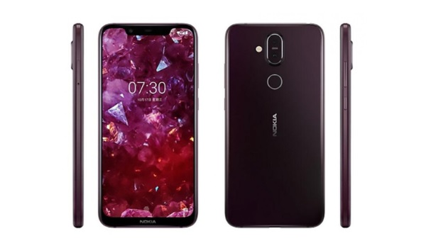 Nokia 7.1 Plus Nokia X7 front back