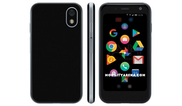 Palm Phone 2018 specs - press render